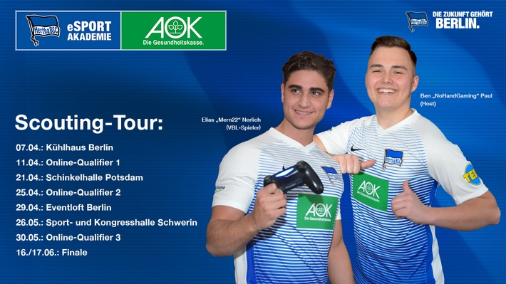 Scouting-Tour startet: FIFA18-Talente gesucht!