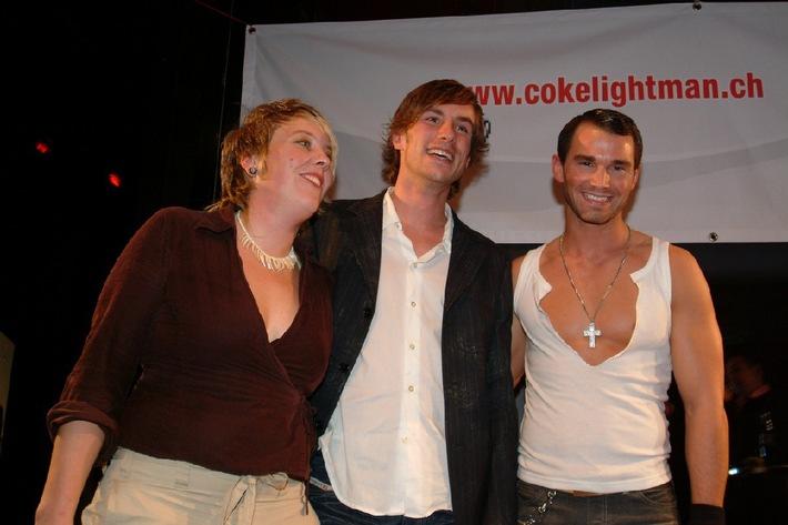 Coke light Man Wahl 2004: Live Coke light Man Wahl in Bar Rouge - Neue Wochensieger