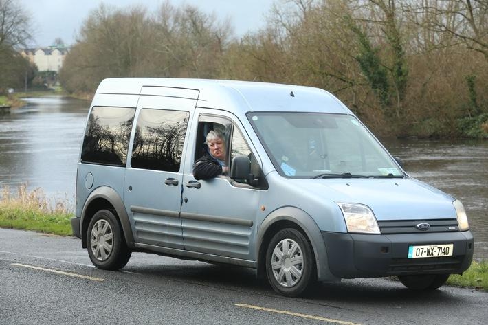 Eine Million Kilometer ohne Probleme: Taxifahrer aus Irland vertraut auch weiterhin seinem Ford Tourneo Connect