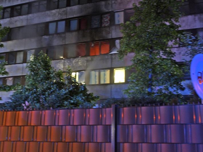 Bild vom Brandort (Foto 2)
