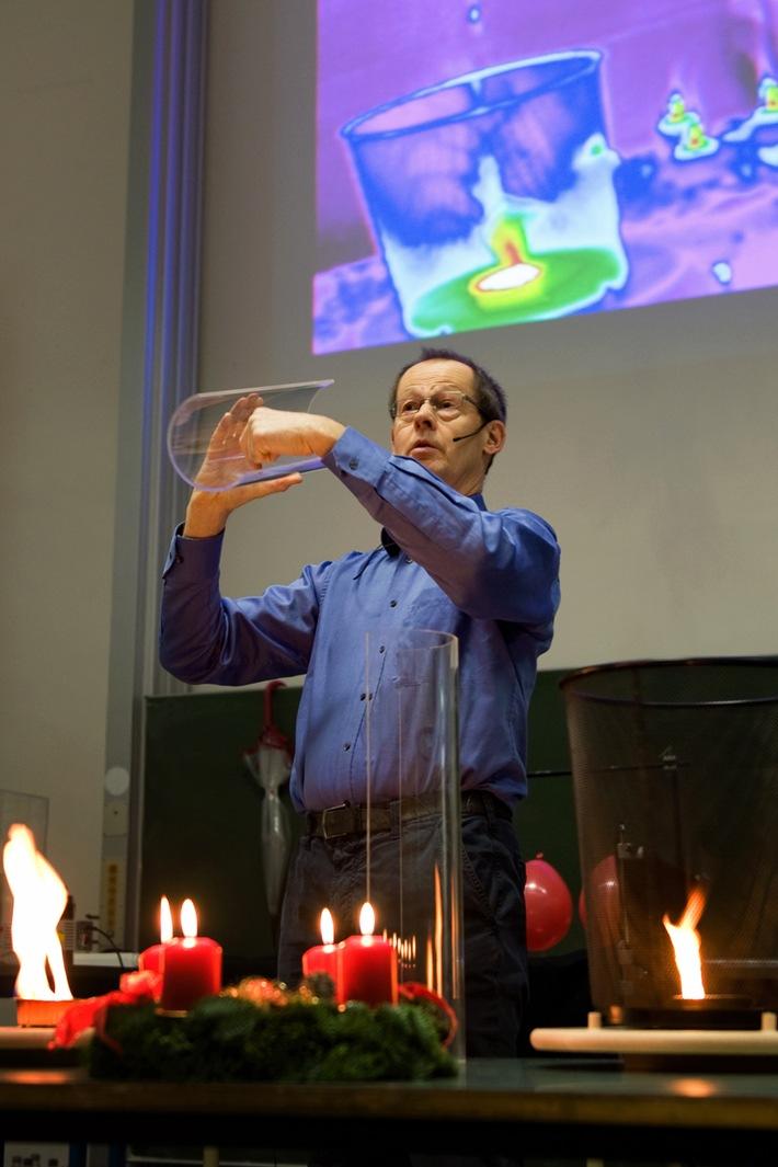 Physikprofessor Justus Notholt