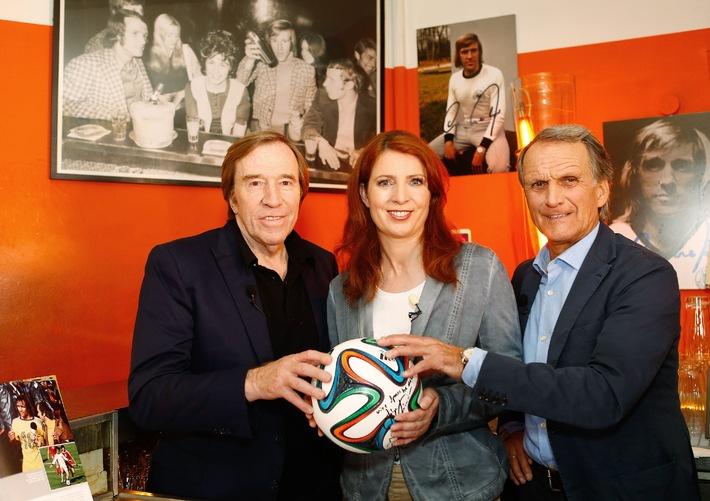 Netzer und Overath bei Monica Lierhaus: Das Weltmeister-Treffen auf Sky Sport News HD