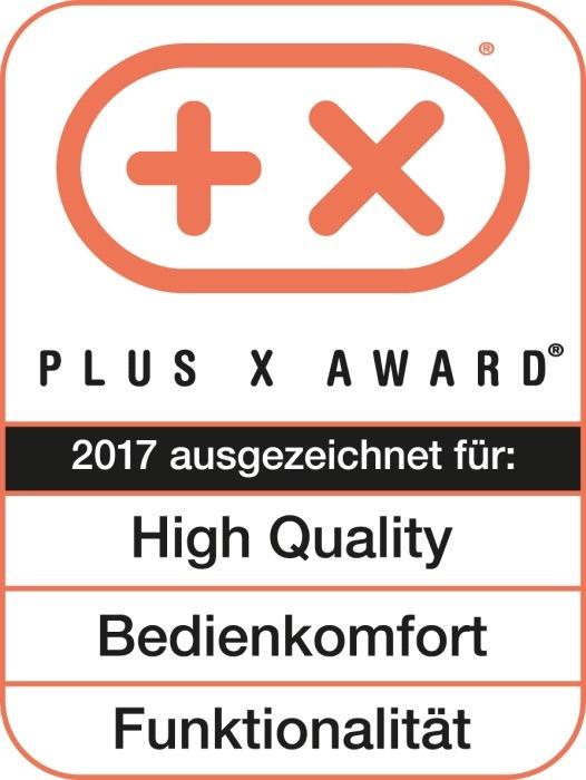 Innovatives Akkusystem Power X-Change mit Plus X Award 2017 ausgezeichnet