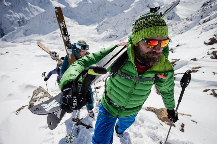"""Ab ins Gelände: Im Drei-Tages-Camp bietet Extrembergsteiger Stephan Keck einen """"Einstieg"""" ins Skitourengehen."""