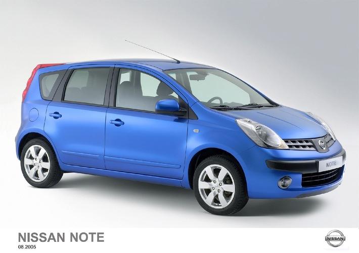 Nissan auf der IAA 2005: Drei neue kompakte mit besonderer NOTE