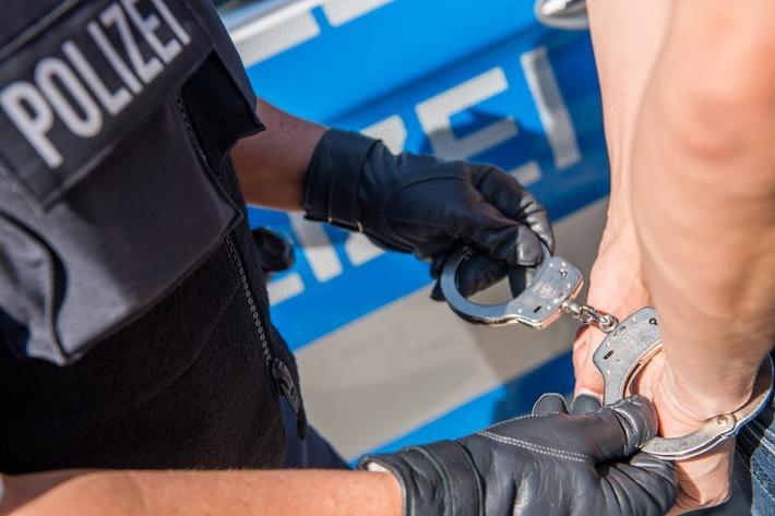 Symbolbild: Festnahme Foto: Bundespolizei