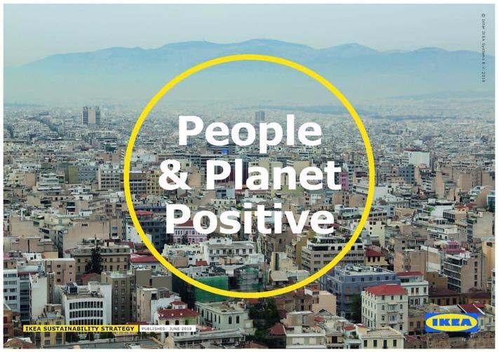"""Bis 2030 """"People & Planet Positive"""": IKEA setzt mit neuer Nachhaltigkeitsstrategie auf Kreislaufwirtschaft"""