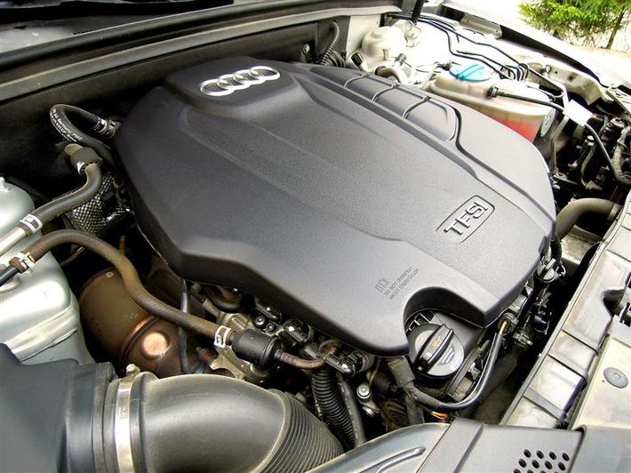 """TFSI-Motor von Audi. Weiterer Text über ots und www.presseportal.de/nr/140928 / Die Verwendung dieses Bildes ist für redaktionelle Zwecke honorarfrei. Veröffentlichung bitte unter Quellenangabe: """"obs/VON RUEDEN"""""""