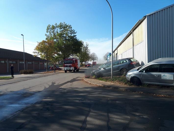 Übungstag Freiwillige Feuerwehr Stadt Borgentreich