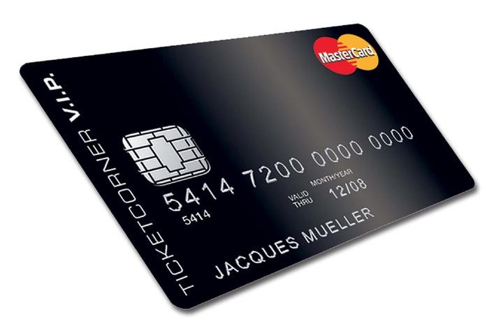 Ticketcorner: Europaweit erste Mitgliederkarte mit Ticketing- und Kreditkartenfunktion