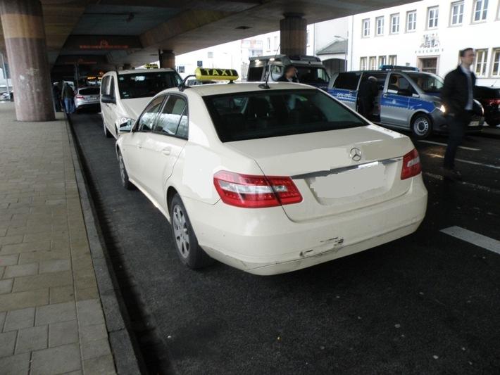 Taxi und Mietwagenkontrolle in Marburg