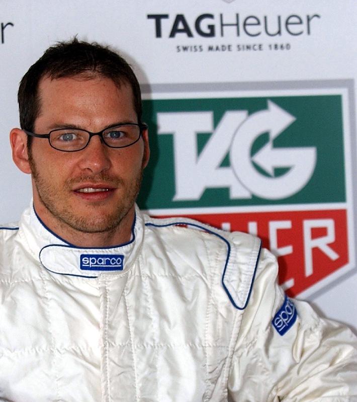 Jacques Villeneuve back in FIA Formula 1 with TAG Heuer