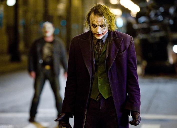 """Der absolute Wahnsinn: Heath Ledger in """"The Dark Knight"""" auf ProSieben (mit Bild)"""
