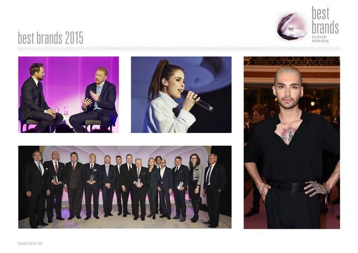 """""""best brands"""" 2015: Deutscher Marken-Oscar geht an Miele, Bose, Nike und Hugo Boss"""