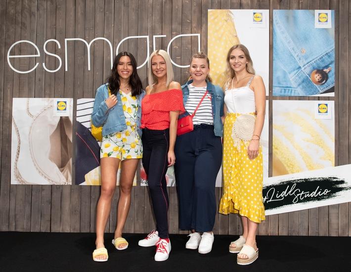 """Launch der exklusiven """"esmara x Influencer""""-Kollektion: Lidl zieht den Sommeranfang in der Hauptstadt vor (FOTO)"""