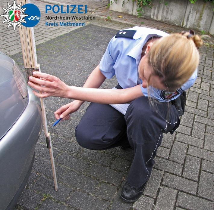 POL-ME: Verkehrsunfallfluchten - Kreis Mettmann - 1710051