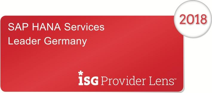 Freudenberg IT ist Top-Dienstleister im SAP HANA-Umfeld: Positionierung in 6 Leader-Quadranten von aktueller ISG-Studie