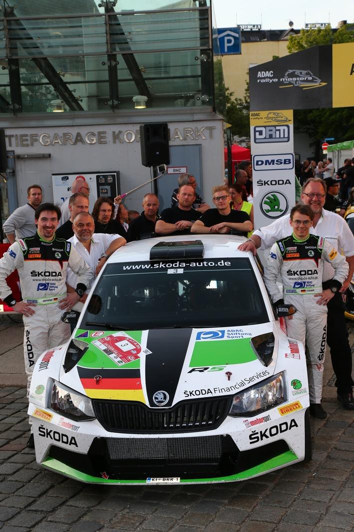 SKODA Duo Kreim/Christian will Halbzeit-Meisterschaft in der DRM