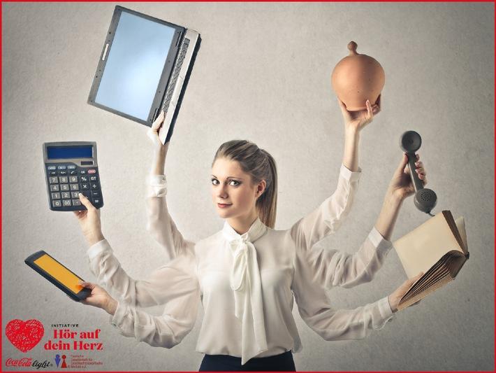 Jung, erfolgreich, gestresst? Was junge Frauenherzen im Job aus dem Takt bringt