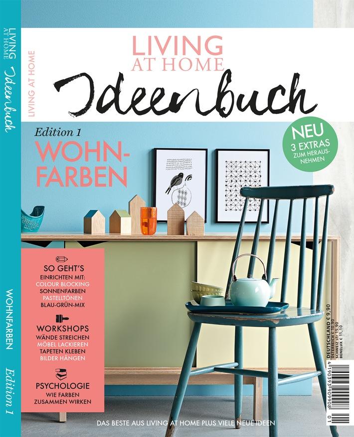 neu im handel das gro e living at home ideenbuch edition no 1 pr sentiert die welt der. Black Bedroom Furniture Sets. Home Design Ideas