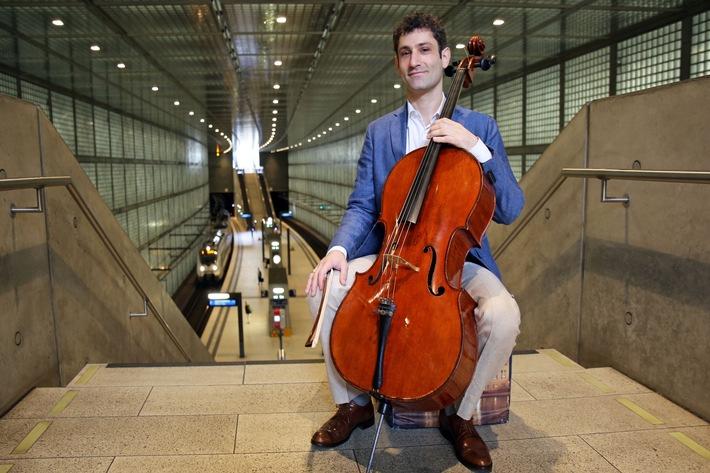 """Bach goes Underground: Dale Henderson, der Initiator von """"Bach in the Subways"""" in Leipzig!"""