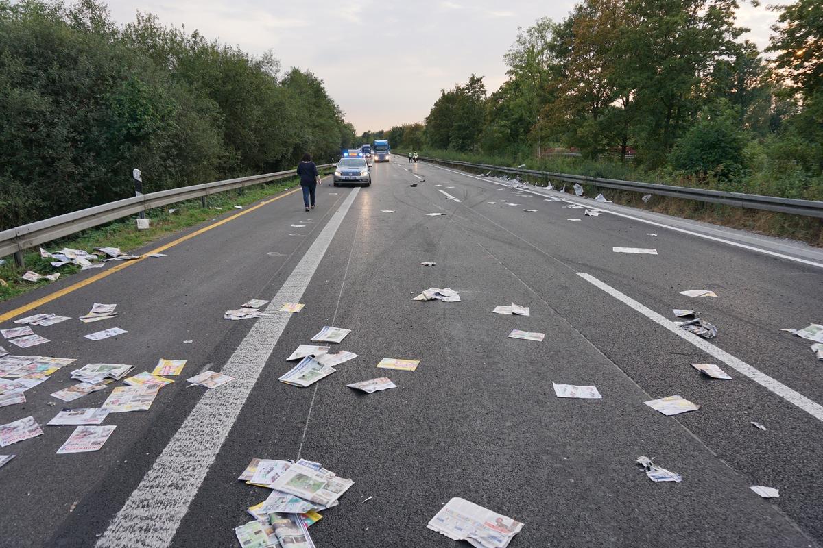 Verkehrsunfall A 44