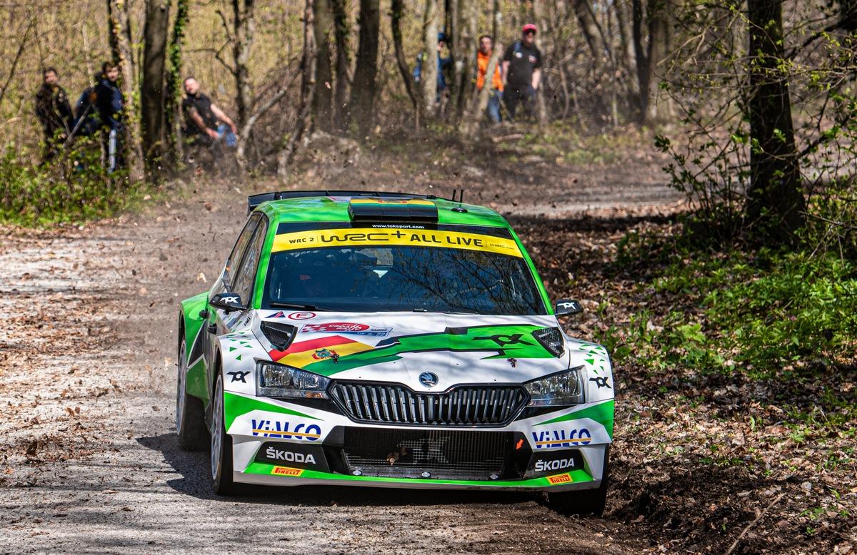 Rallye Portugal: 18 privat eingesetzte ŠKODA FABIA Rally2 evo unter insgesamt 42 Rally2-Fahrzeugen