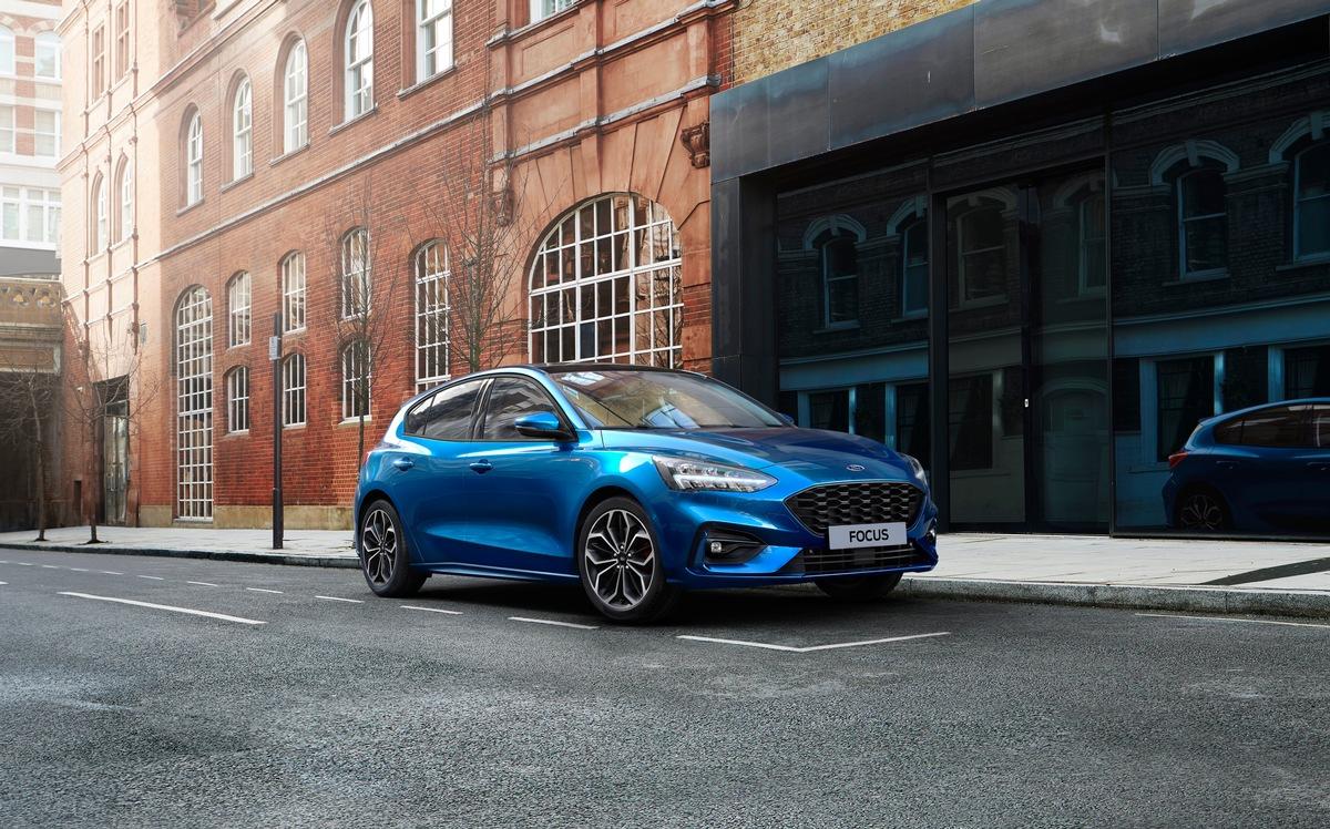 Neuer Ford Focus EcoBoost Hybrid: elektrifizierter Antrieb verbessert Kraftstoffeffizienz um 17 Prozent