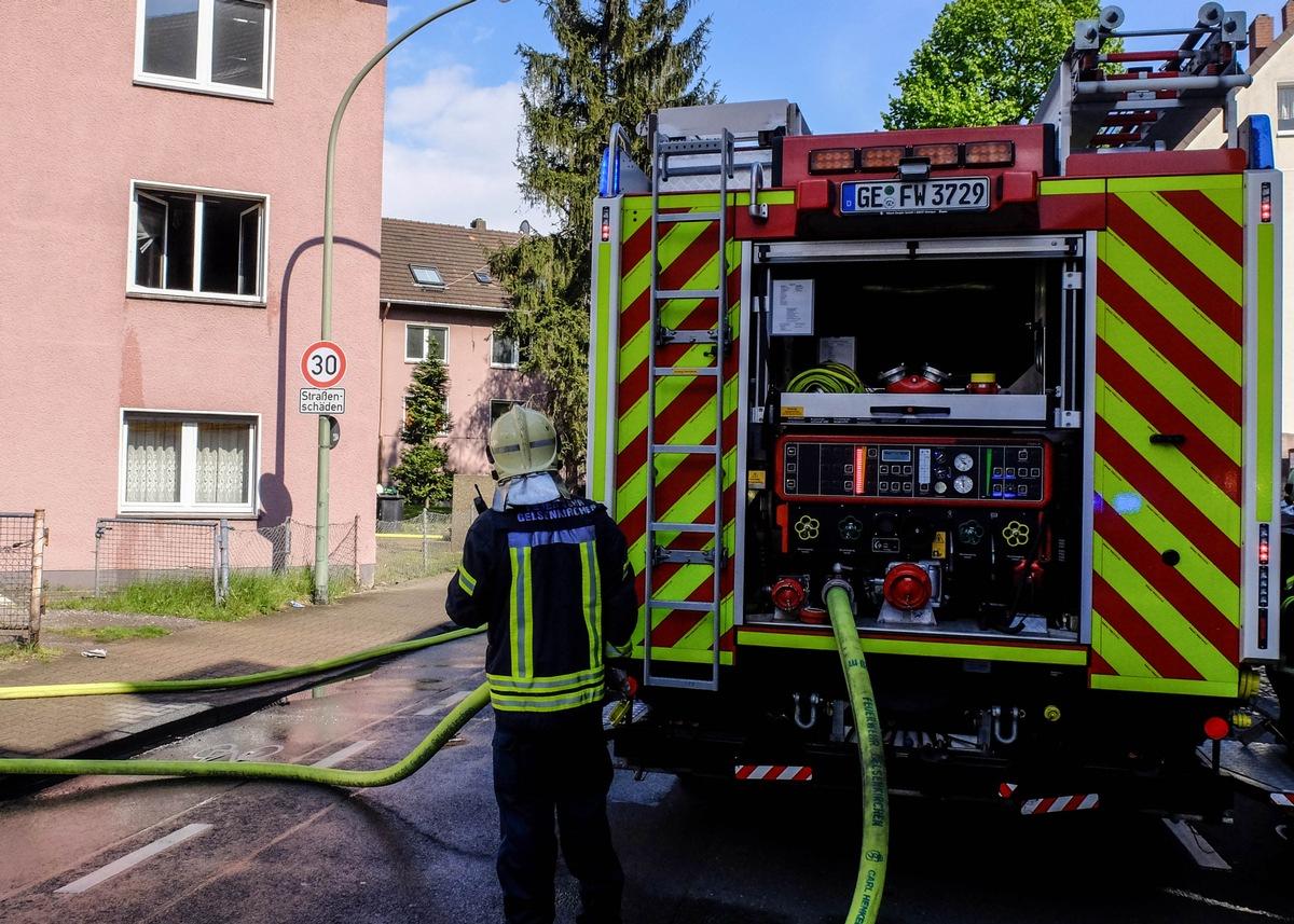 Brand gelsenkirchen bismarck