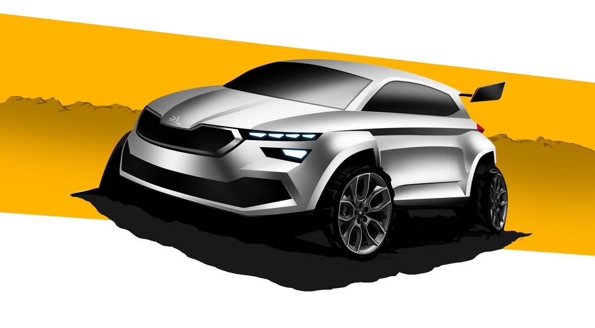 In Zusammenarbeit mit SKODA Motorsport: Achtes SKODA Azubi Car nimmt erste Formen an