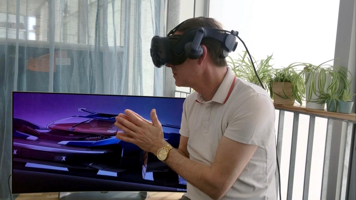 Wie das ultimative Rennauto am Heim-Computer entsteht: Ford präsentiert virtuelles Design-Studio