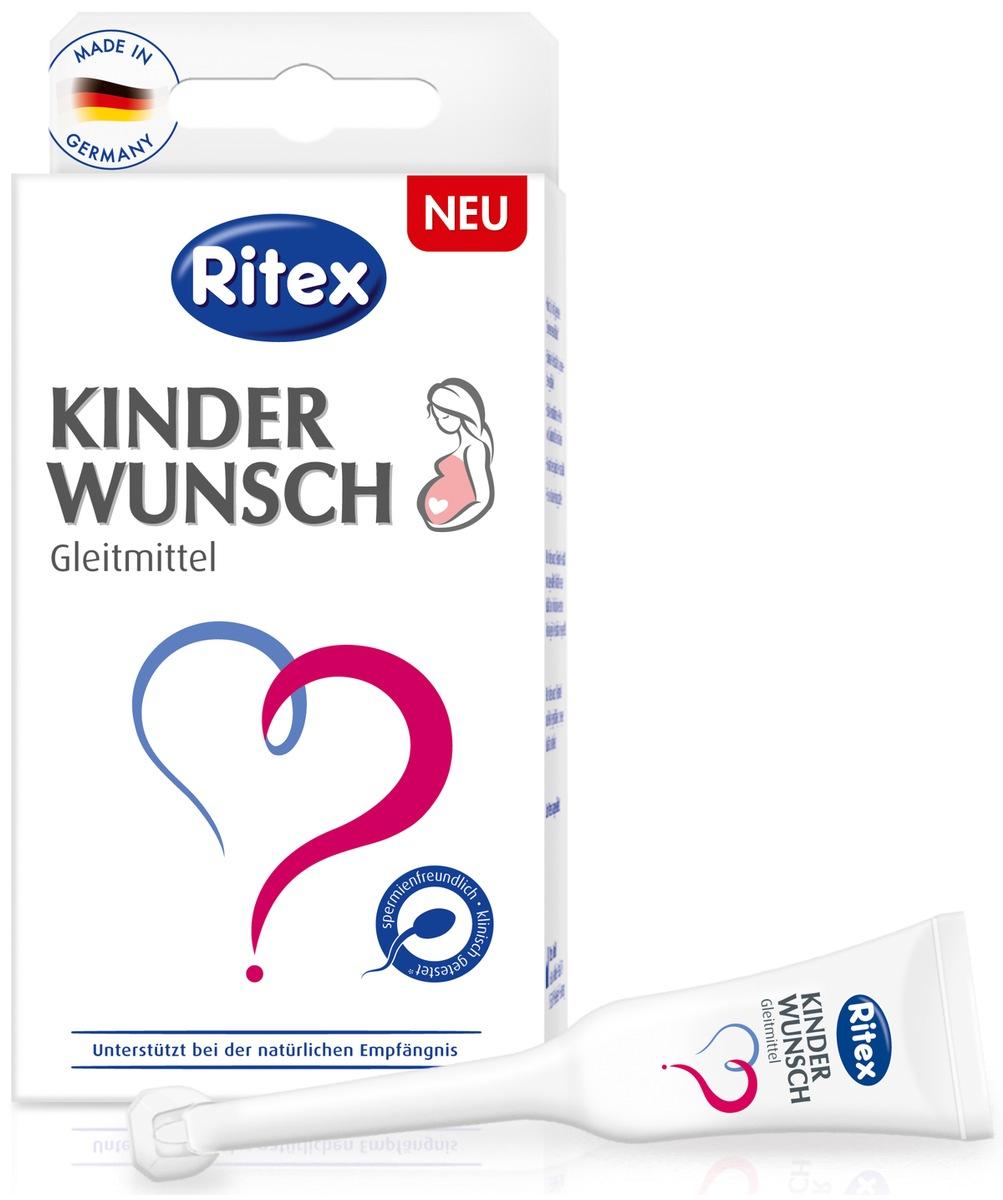 Gleitmittel bei Kinderwunsch / Ritex investiert in neuen