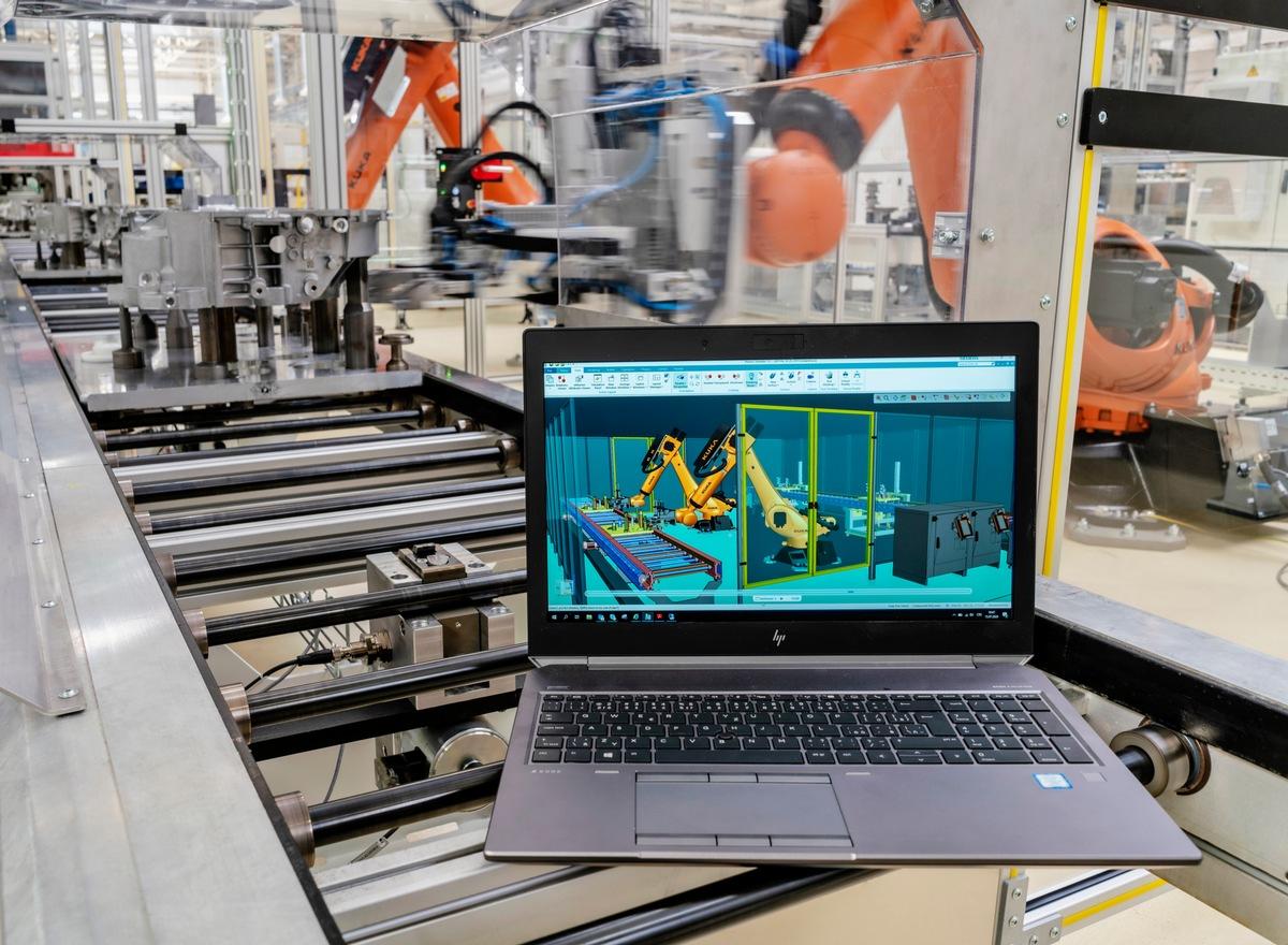 Industrie 4.0: SKODA AUTO Werk Vrchlabi nutzte digitalen Zwilling