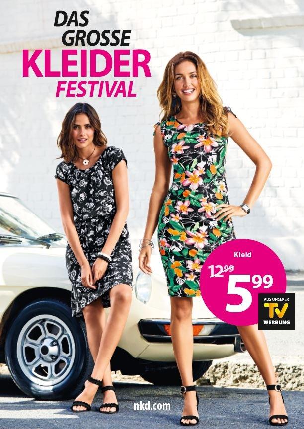 ausgewähltes Material Super Rabatt begehrteste Mode ▷ NKD zelebriert den Sommer - Das große Kleider Festival ...