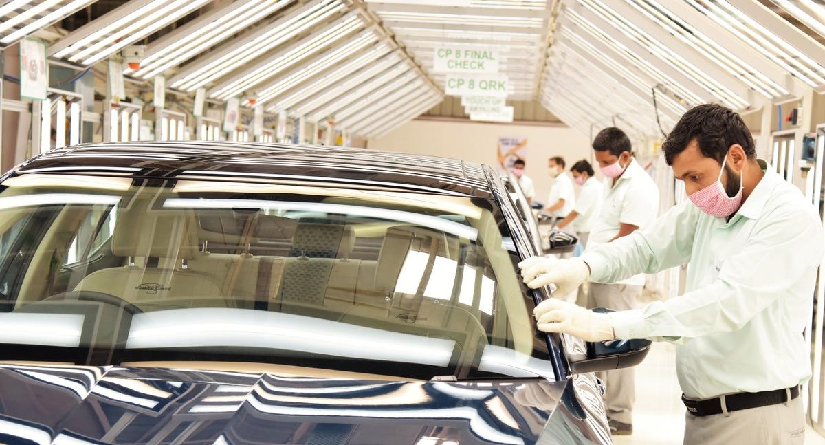 SKODA AUTO Volkswagen India nimmt Produktion an beiden Standorten wieder auf - Projekt INDIA 2.0 weiter auf Kurs