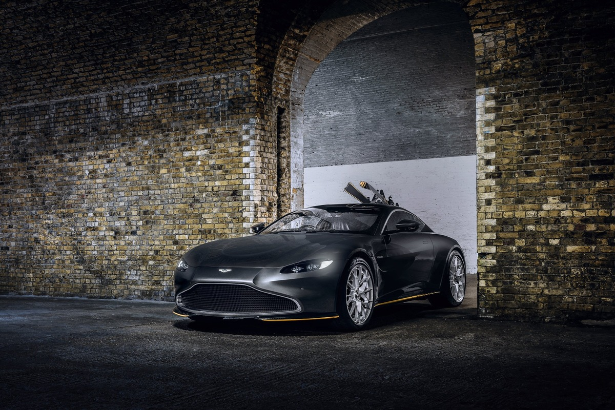 Q By Aston Martin Creates New 007 Limited Edition Sports Cars To Celebrate No Time To Die Presseportal