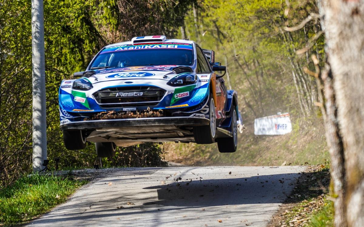 M-Sport Ford zieht positive Bilanz nach dem WM-Debüt der Rallye Kroatien