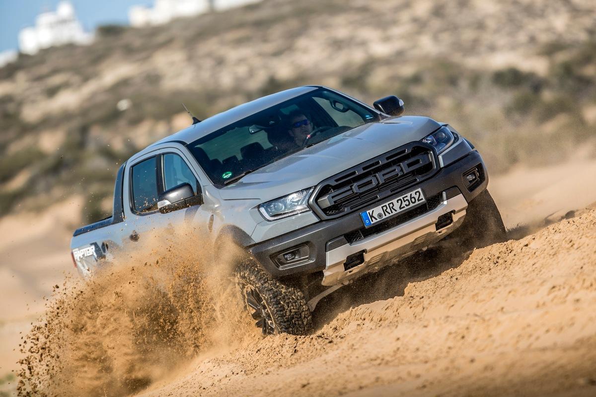 Der Ford Ranger ist 'Firmenauto des Jahres 2020'