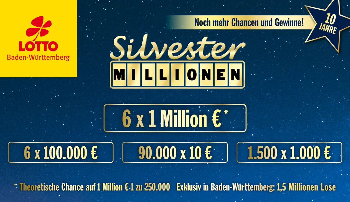 Toto Lotto Silvester Millionen Gewinnzahlen
