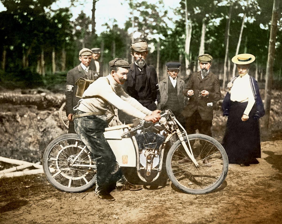 Der Triumph von Dourdan: Laurin & Klement gewann vor 115 Jahren die Motorrad-Weltmeisterschaft