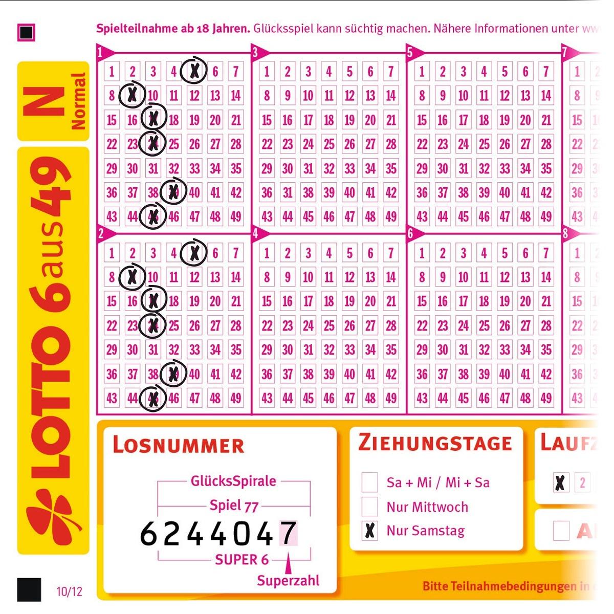 Die Häufigsten Sechser Lotto Kombinationen