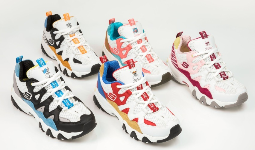 ▷ Limited Edition Skechers D'Lites & Toei Animation ONE