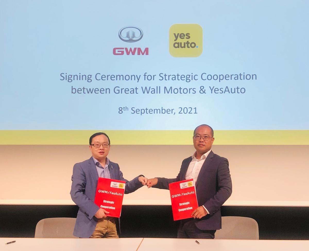 IAA Mobility: YesAuto startet Kooperation mit Great Wall Motors