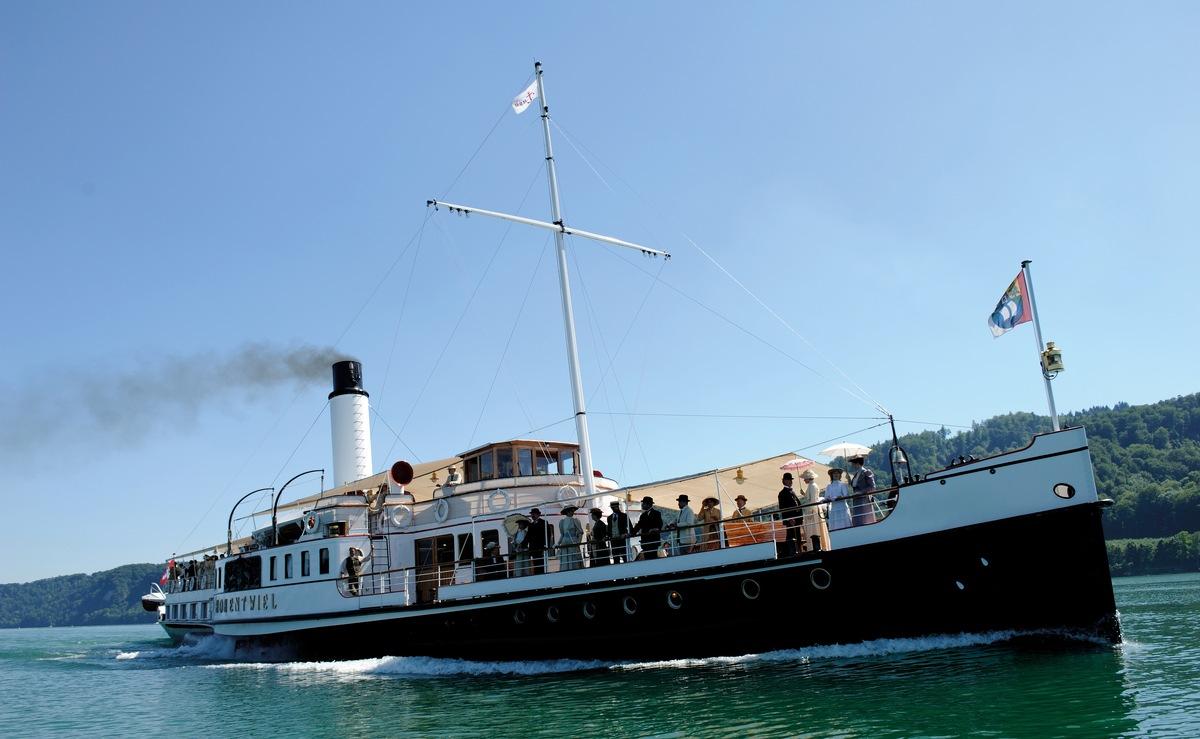 Das Schonste Dampfschiff Europas Feiert 100 Jahre Hohentwiel