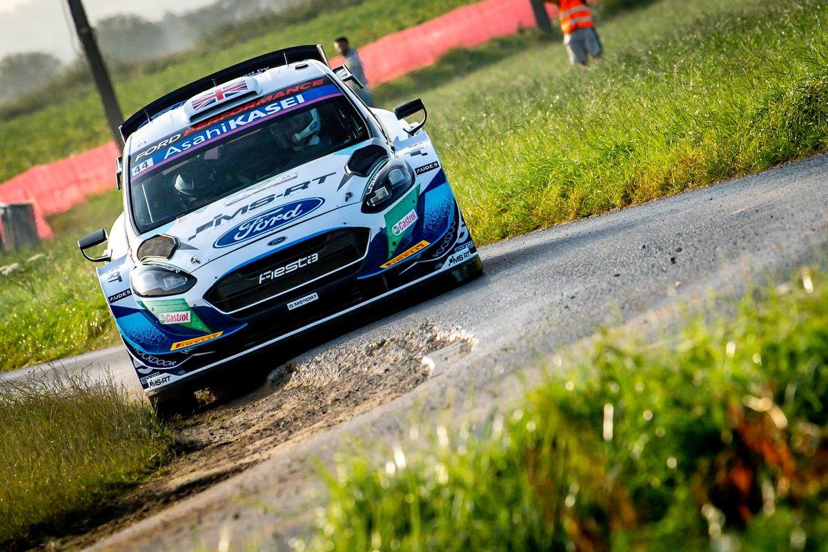 WRC: M-Sport Ford kehrt mit leeren Händen von der WM-Rallye Belgien zurück