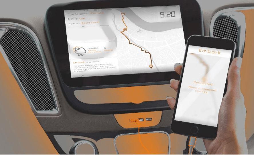 Ford Design Award für Selbstfahrendes Taxi für Menschen mit eingeschränkter Mobilität