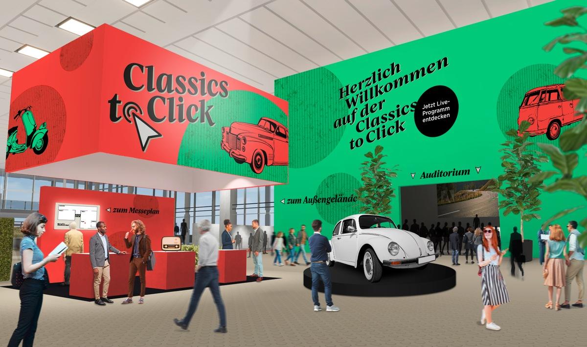 Classics to Click: Deutschlands erste Onlinemesse für Oldtimer, Youngtimer & Co