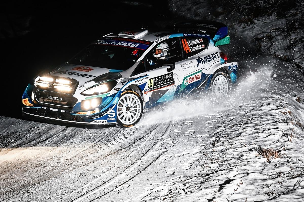 Heisse Rallye-Action am eisigen Polarkreis: M-Sport Ford tritt bei der Arctic Rallye Finnland mit 2 Fiesta WRC an