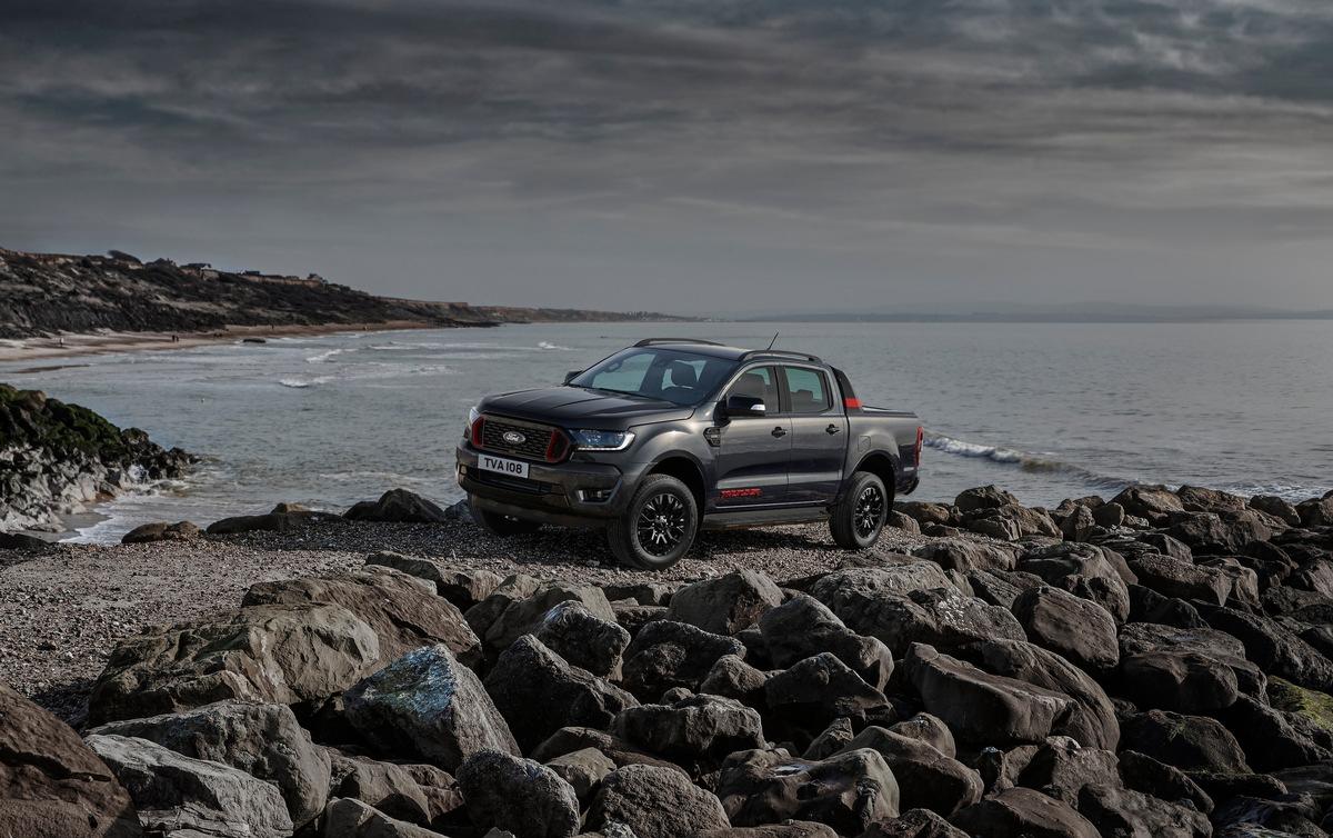 Ford Ranger Thunder: Eine neue Ausstattungsvariante von Europa's beliebtestem Pick-Up