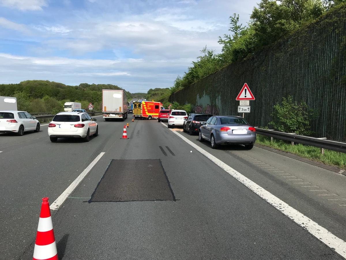 A1 Verkehrsunfall
